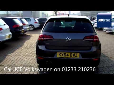2014 Volkswagen Golf GTD DSG 2l Limestone Grey Metallic KX64OWZ for sale at JCB VW Ashford