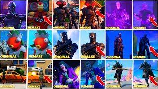 All the Fortnite Trailer Remakes I've made