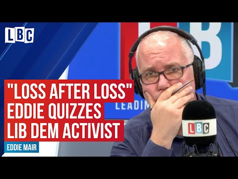 """""""Loss After Loss"""": Eddie Mair Quizzes Lib Dem Activist On The Party's Future"""