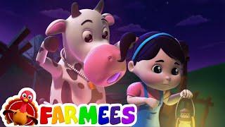 привет его Хэллоуин | детские песни | потешки | Farmees Russia | развивающий мультфильм