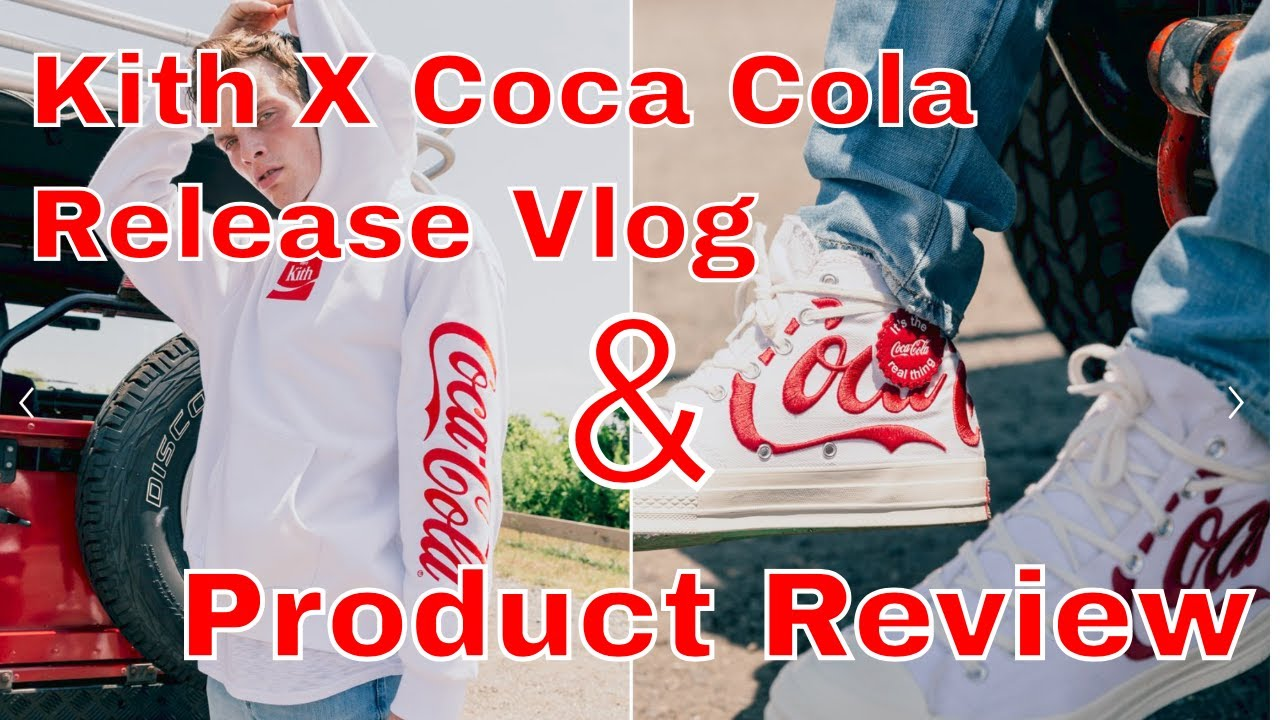 a13d3320aef Kith X Coca Cola Release Vlog and Product Review (time stamps in the  description)