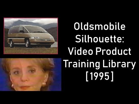Oldsmobile Silhouette: Video Product Training Library [1995]