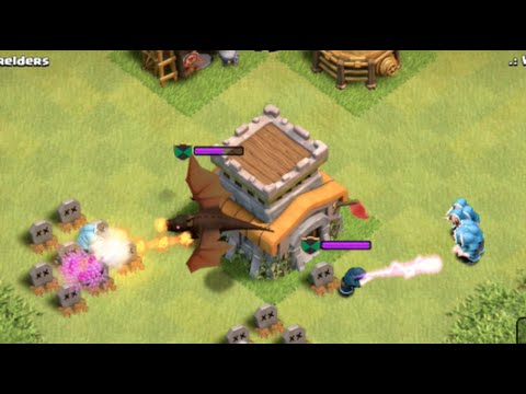 Clash Of Clans- Failed Raids Ep6 Clan Castle Troops FTW!