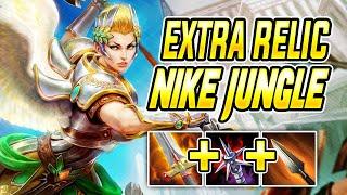 BUILT IN RELIC Nike Jungle  SMITE Ranked Conquest Season 7