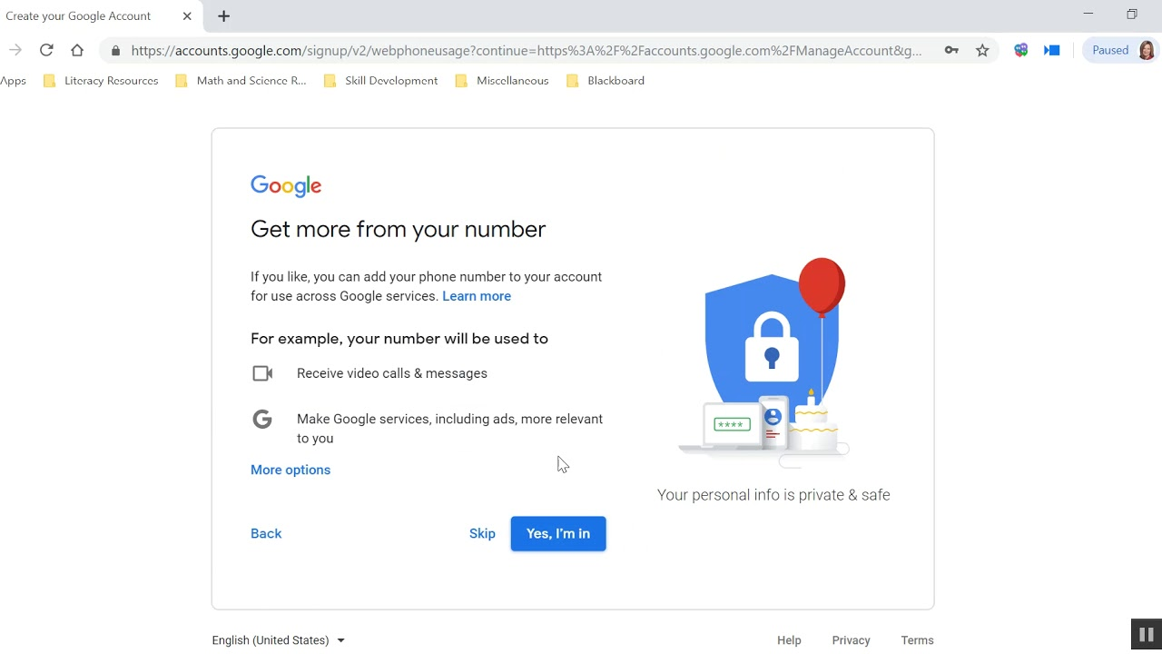 How to make a google account without a phone number 2020