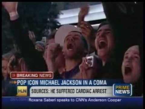 King of Pop Michael Jackson Is Dead Announcement