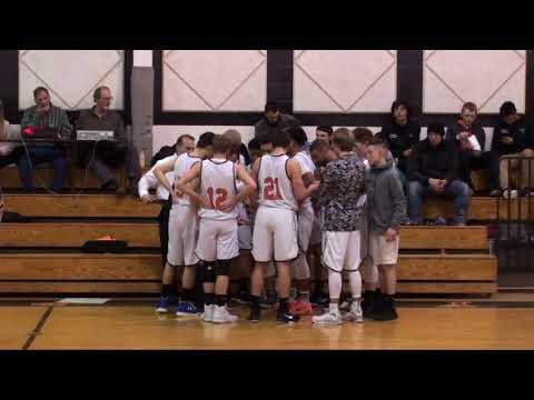 Marathon Boys BBall vs Union Springs (Video 1 of 4) 2-2-18