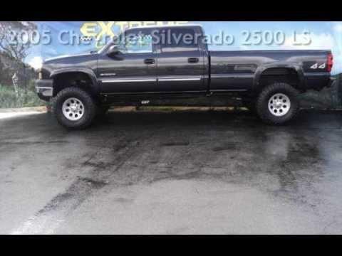 Used 2005 Chevy Silverado 2500 Crew Cab 4x4 For Sale In Hemet Ca