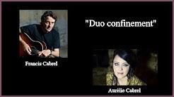 Francis Cabrel et Aurélie Cabrel