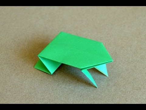 Origami Jumping Frog Instructions Origami Fun