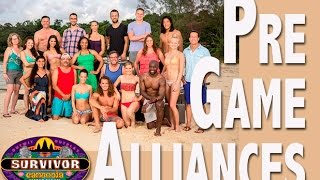 Survivor Second Chances: Pre-Game Alliances Revealed (Non-Spoiler)