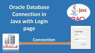Oracle Database Connection with Login Form in java Swing 2018 || JDBC Connection || Part #2