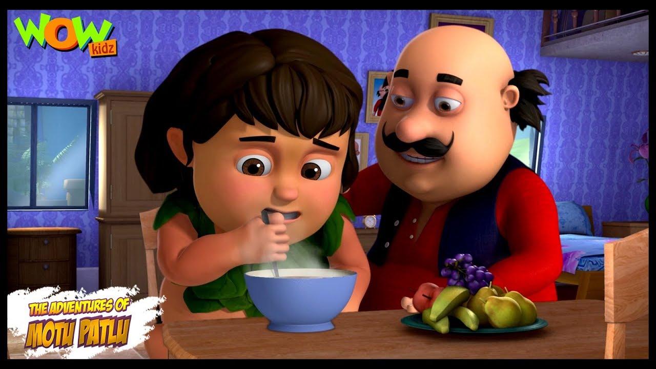 Motu Patlu New Episode | Hindi Cartoons For Kids | Don The Wolf Boy | Wow Kidz