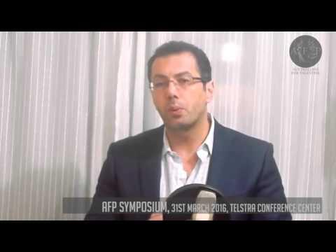 AFP SYMPOSIUM 2016: KEYNOTE SPEAKER -  Ramzy Baroud