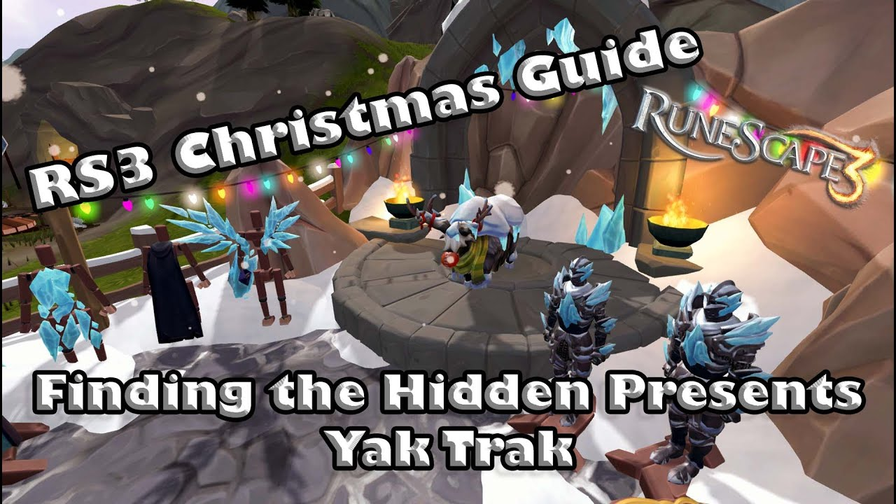Runescape 3 2021 Christmas Event Rs3 Christmas 2020 Guide To The Present Hunt Yak Track Rewards Youtube