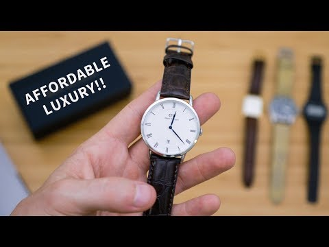 Fashion Watches for Men (my opinion) + Daniel Wellington Unboxing