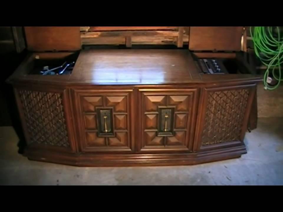 RCA New Vista Console Stereo   YouTube