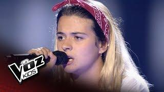 """Helena: """"Chandelier"""" – Audiciones a Ciegas  - La Voz Kids 2018"""