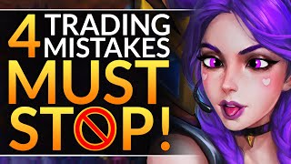 4 BIG Mistakes Eveŗyone Makes - How to Trade Like a Challenger - League of Legends Laning Tips Guide