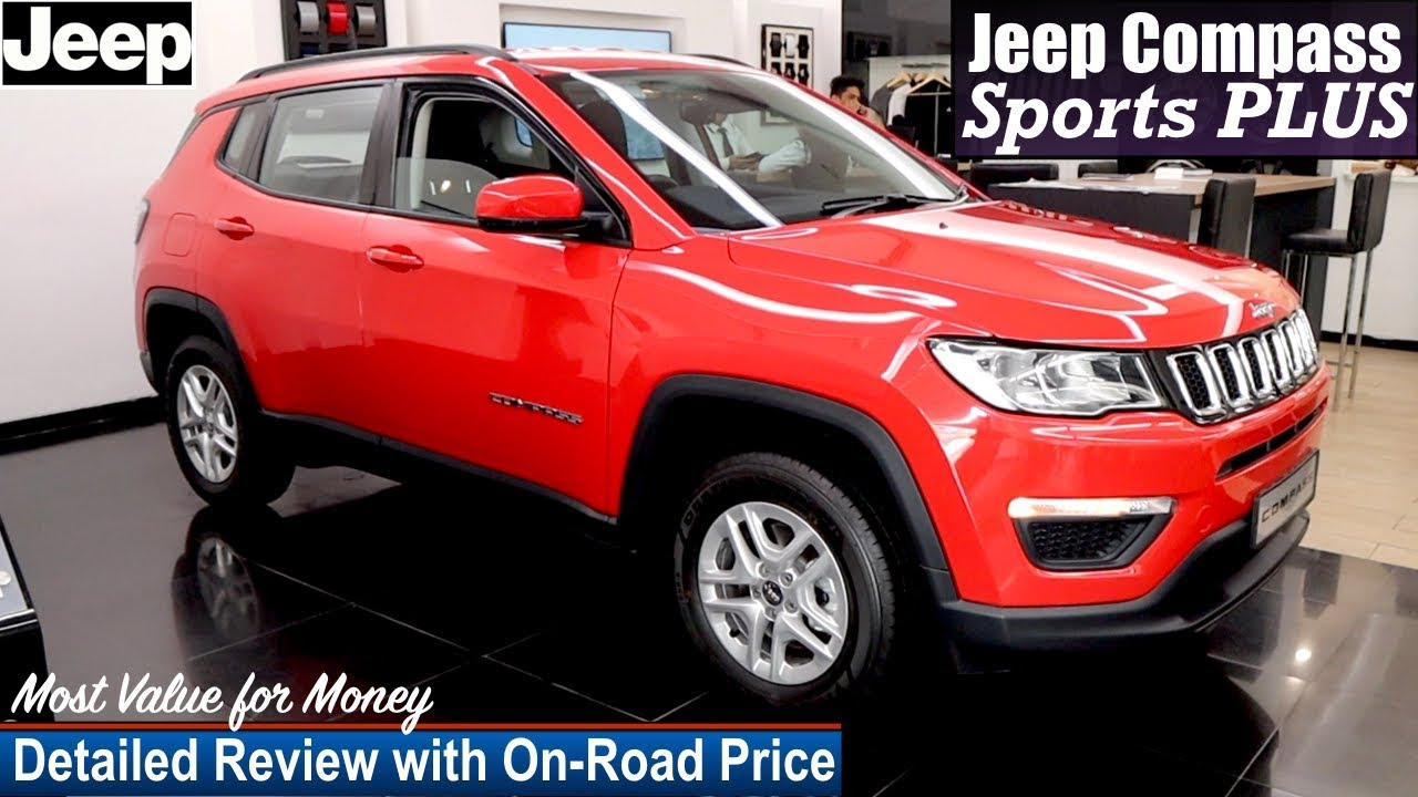 Jeep Compass Sports Plus Detailed Review With On Road Price Compass Sports Plus Youtube