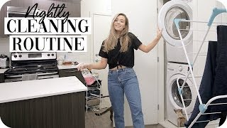 Clean with Me: Nightly Cleaning Routine 2019