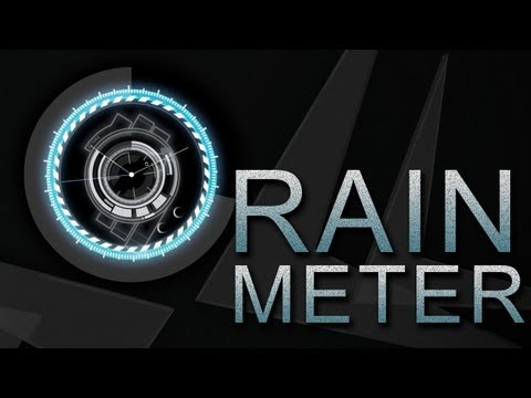 Rainmeter Tutorial | Brandon Bias' Rainmeter Setup | Customize Your Windows Desktop