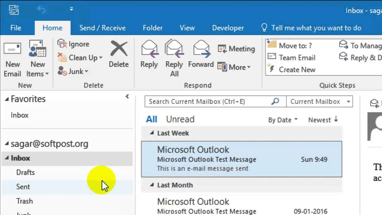 Outlook 2007 keeps updating inbox