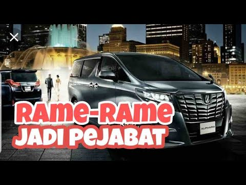 Rame-Rame Nyoba Alphard Executive Lounge 2019