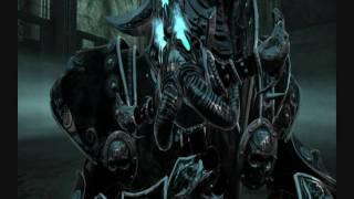Oblivion Lich Kings Armor and Frostmourne v2