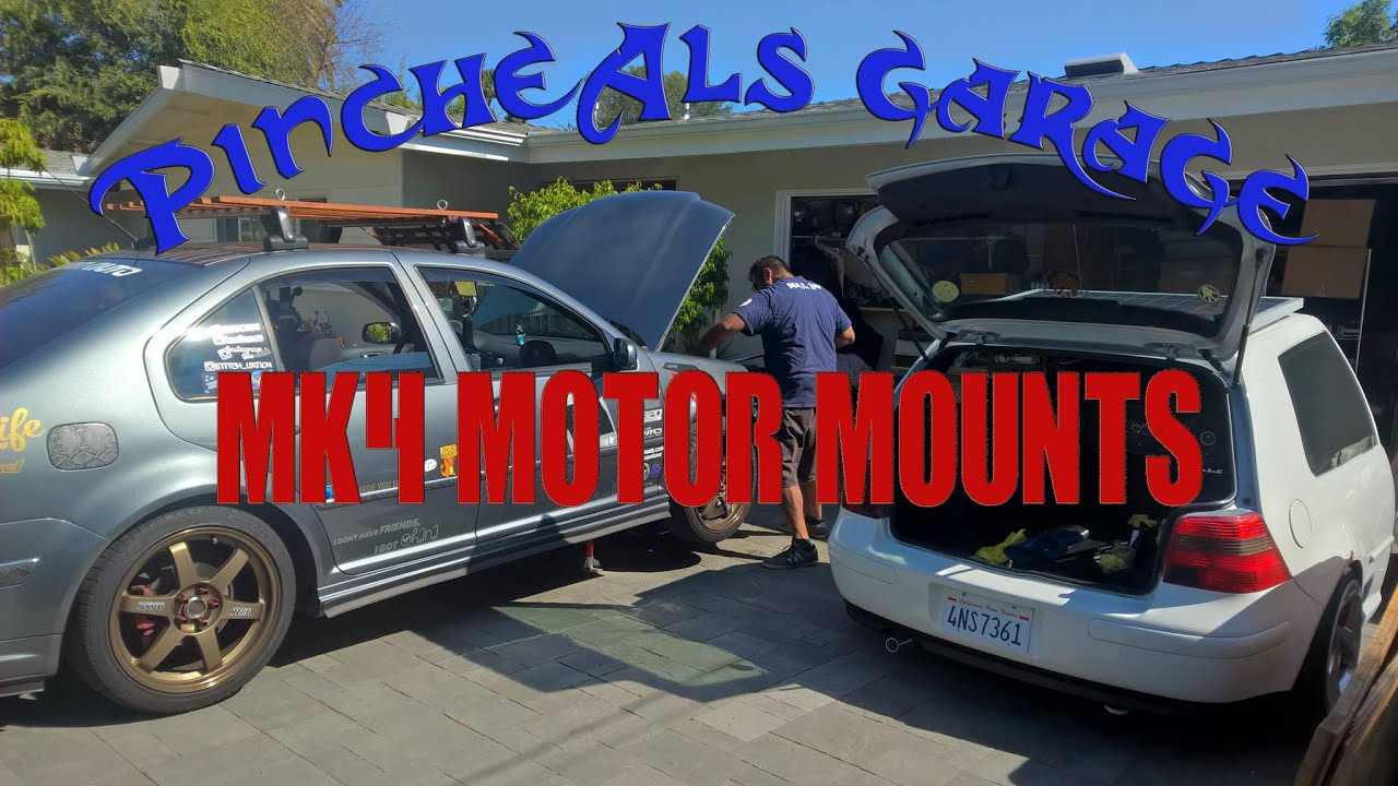 hight resolution of how to install mk4 golf jetta gti motor mounts on a 1 8t season 3 episode 2
