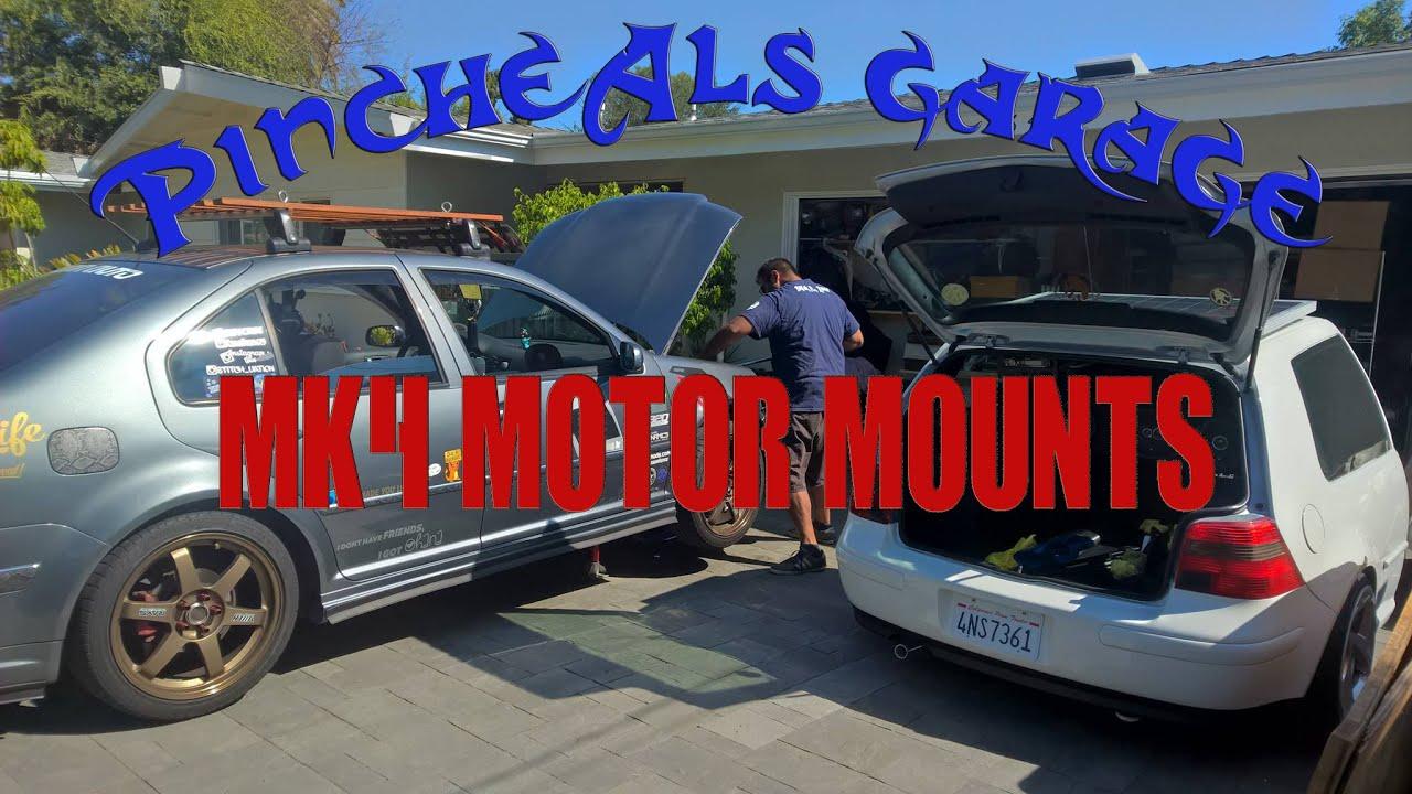 how to install mk4 golf jetta gti motor mounts on a 1 8t season 3 episode 2 [ 1280 x 720 Pixel ]
