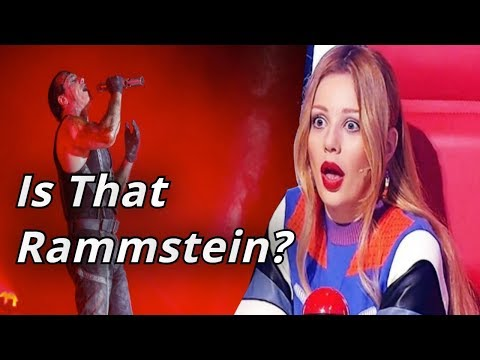 Rammstein In The Voice | Blind Auditions | Best Rammstein Covers
