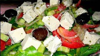 Греческий салат     Greek Salad