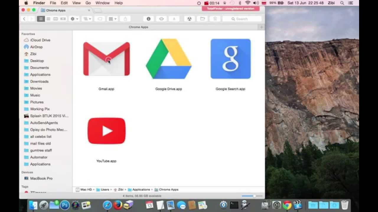 How To Remove Delete Uninstall Google Chrome Apps Shortcuts From Mac