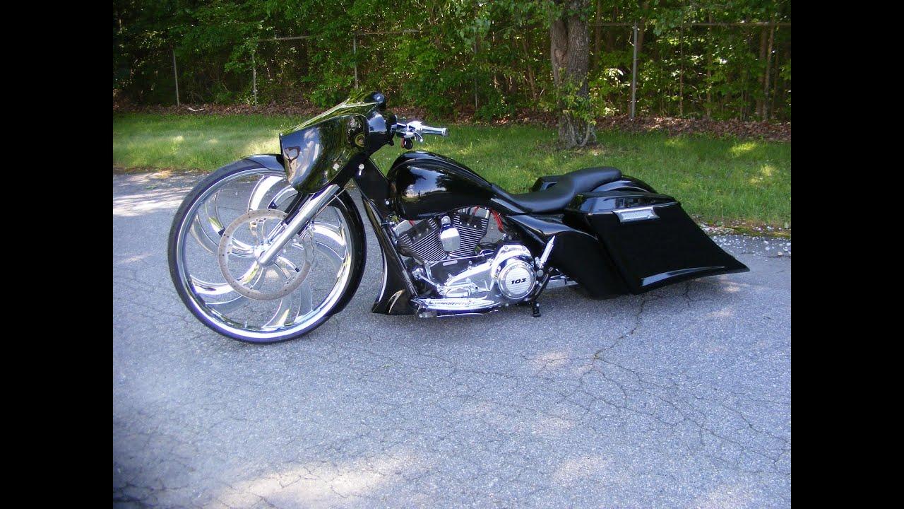 32 Inch Big Wheel Street Glide Harley Davidson Custom Cycles Ltd