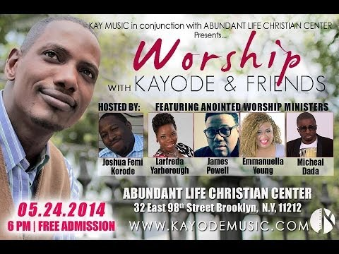 EMMANUELLA YOUNG - Worship with Kayode & Friends May 2014