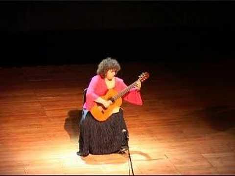 Guitarist Eva Fampas plays Oleg Kiselev