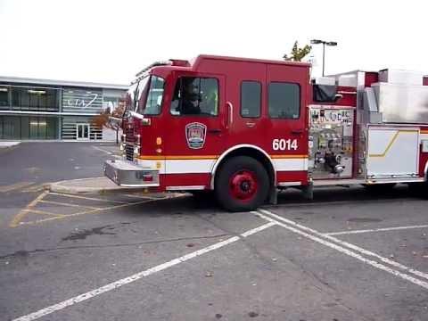 Camion Pompier Incendie Agglom 233 Ration Longueuil 6014