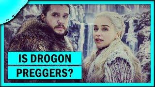 Is Drogon pregnant?