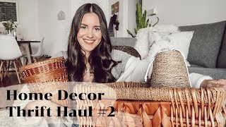HOME DECOR THRIFT HAUL #2