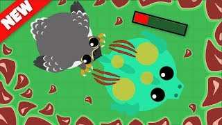 Mope.io // FALCON KILLING DRAGONS AND T-REXS // Mope.io Bests moments