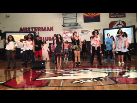 Cortez High School Student Council skit (Fall Sports Assembly 2014)