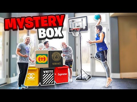 Last To Miss MINI HOOP DUNK Wins Mystery BOX!