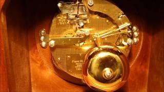 hermle bell strike mantel clock