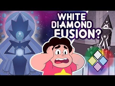 WHITE DIAMOND IS A GEM FUSION - Color Reproduction Theory - [ Steven Universe Theory ]