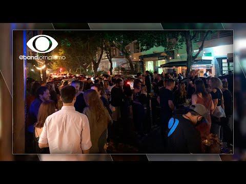 Leblon da covid: reabertura de bares gera aglomerações no RJ