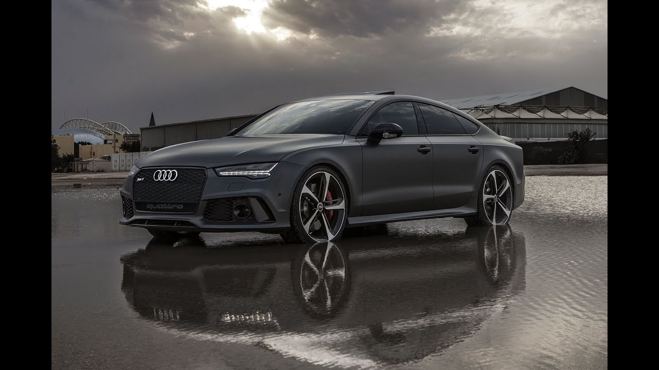 2017 605hp Audi RS7 Performance in Daytona Gray Matte ...