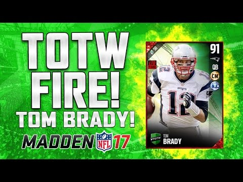 BEST TEAM OF THE WEEK EVER? LIMITED TOM BRADY! DAVID JOHNSON! DARIUS SLAY! | MUT 17