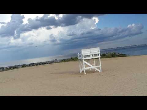 Sightseeing at Fort Monroe Beach in Fort Monroe,Virginia