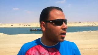 Citizen of Kantara in the new Suez Canal on Easter: God protects our military